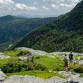 The view from Adam's Apple south to the Chin.- Mount Mansfield via Hell Brook + Long Trails