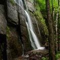 Opposite side of the falls.- Rock Garden Falls