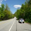 Plenty of roadside parking. Weekends can get crowded.- Rock Garden Falls