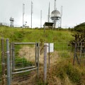 The end of the trail at the radar station.- Mount Ka'ala