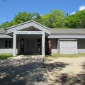 The nature center at Whitefish Dunes State Park.- Red Trail