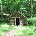 The Oneta Shelter.- Red Trail