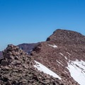 A rocky ascent of Wilson Peak.- Red Castle Lakes + Wilson Peak