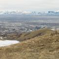 Salt Lake City and the Oquirrh Mountains.- Little Black Mountain
