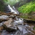 Frank L. Ricketts Falls.- Ricketts Glen State Park