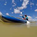 The Colorado River is too silty to filter, so bring your own water on the trip.- Colorado River: Ruby Horsethief Canyon