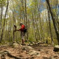 The trail register.- Mount Pisgah via South Trail