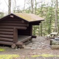 The Pine Lean-To.- Underhill State Park Campground