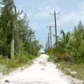 North end of Caye Caulker has limited infrustructure.- Caye Caulker: Koko King Beach