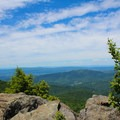 The view at the top of the last climb.- Bearfence Mountain