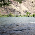 The Deschutes River is known for its steelhead and trout fishing.- Beavertail Recreation Site + Campground