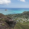 The Pillbox hike gives you great views of the area.- Lanikai Beach