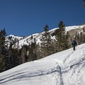 Heading up Silver Fork.- Silver Fork in Big Cottonwood Canyon