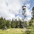 The Balsam Lake Fire Tower.- Balsam Lake Fire Tower