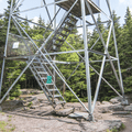 Begin your ascent to the top.- Balsam Lake Fire Tower