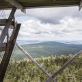 The view to the west.- Balsam Lake Fire Tower