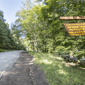 The Department of Environmental Conservation parking lot on Mill Brook Road.- Graham Mountain