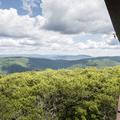 Views to the northeast.- Graham Mountain