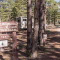 Loops A and B are for RVs.- Sunset Campground
