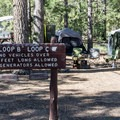 Sunset Campground is for tents and small RVs.- Sunset Campground