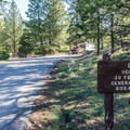 Loop A is only for RVs.- North Campground