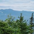 The Presidential Range from Mount Starr King.- Mount Starr King + Mount Waumbek
