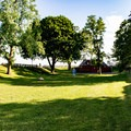 The grounds at Fort Sewall.- Fort Sewall
