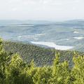 The Schoharie Reservoir.- Bearpen Mountain