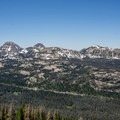 First look at the Mirror Lake Highway.- Kletting + A-1 Peak