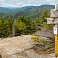 Junction with the Brook Trail higher up. - Mount Chocorua via Liberty Trail