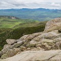 The final stretch of rocks.- Mount Chocorua via Liberty Trail