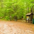 Liberty Trailhead is tucked back on a dirt road.- Mount Chocorua via Liberty Trail