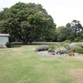 The entrance to the Botanic Gardens.- Hagley Park + Botanic Gardens