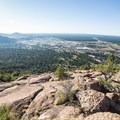 Great views of Flagstaff the whole way up.- Mount Elden Slabs