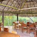 Restaurant onsite with local Belizean meals.- Mopan River: Clarissa Falls