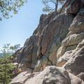 Expansive views near the summit of Castle Rock.- Castle Rock Crag via Lower Trailhead