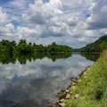 French Broad River.- Seven Islands State Birding Park