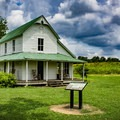 A former farmhouse is located in the park and is open for exploring. Take a break in the rocking chairs and imagine what life was once like along the French Broad.- Seven Islands State Birding Park