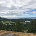 View to the south from the top of Young Hill.- San Juan Island: Young Hill
