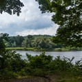 Great views of the Delaware River.- Worthington State Forest Campground
