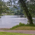 Boat launch.- Worthington State Forest Campground