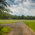 Large area for use by campers only, next to the group campsites. - Worthington State Forest Campground