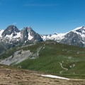 Aiguille des Posettes and the ridgewalk to come.- Tour Du Mont Blanc: Stages 9, 10 + 11