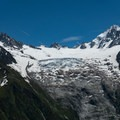 Glacier hung valleys along the range to the south.- Tour Du Mont Blanc: Stages 9, 10 + 11