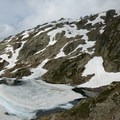 Several frozen lakes among the Lac de Cheserys.- Tour Du Mont Blanc: Stages 9, 10 + 11