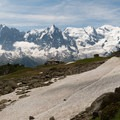 Plan Praz cable-car station and cafe.- Tour Du Mont Blanc: Stages 9, 10 + 11