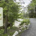 The path to Awosting Falls (lower parking lot).- Minnewaska State Park Preserve