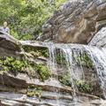 The top of Awosting Falls.- Minnewaska State Park Preserve