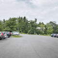 The upper parking area.- Minnewaska State Park Preserve