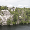 The single private residence overlooking the lake.- Minnewaska State Park Preserve